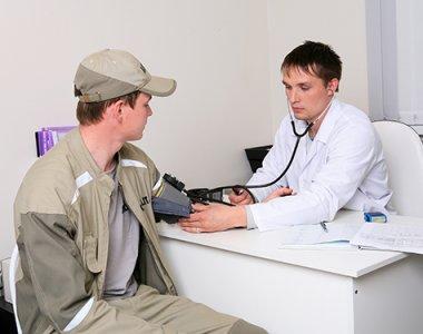 Предрейсовый медицинский осмотр водителя